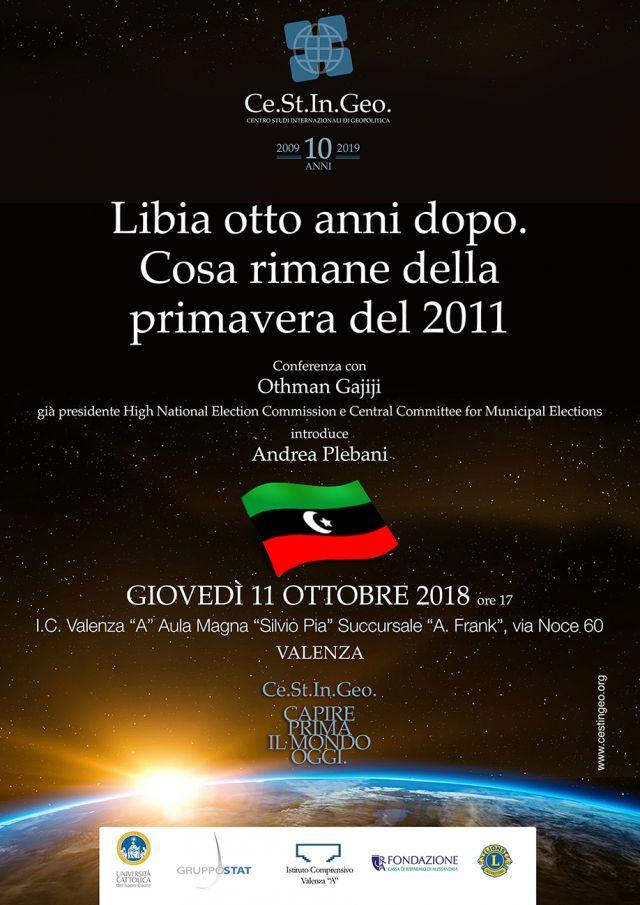 locandina Libia otto anni dopo: cosa rimane della primavera del 2011