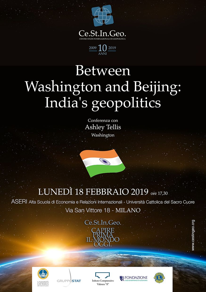 locandina Between Washington and Beijing: India's geopolitics